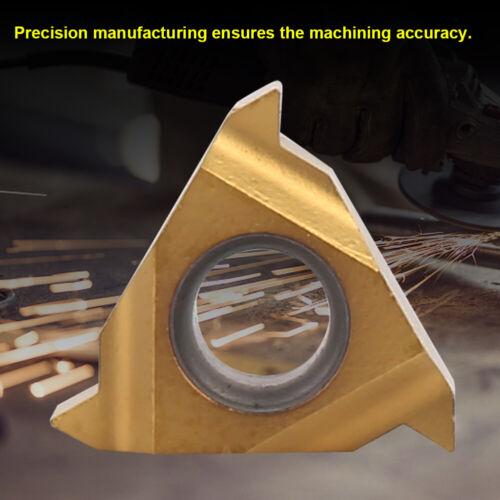 "10pcs 11ER A60 1//4/"" Carbide Blade Insert CNC Lathe Cutter Turning Tool New"