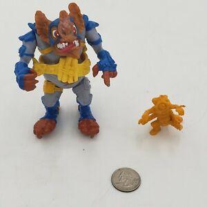 1990-Vintage-vtg-WingNut-amp-Scewloose-W-Belt-TMNT-Playmates-Toys