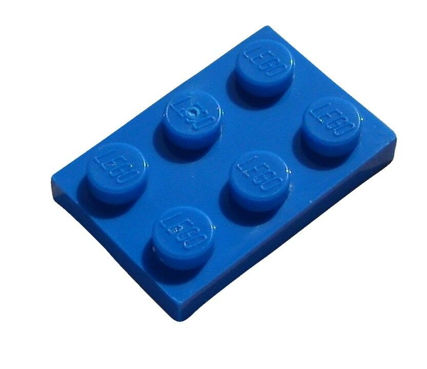 1 x 1 PLATES Blue plate x 50-1x1 NEW LEGO