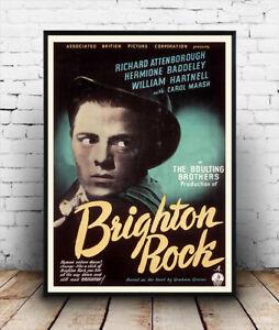Brighton-Rock-Richard-Attenborough-1947-Vintage-film-poster-reproduction