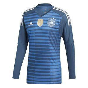 11d3c541e6b9f Details about Adidas Mens DFB Germany World Cup 2018 Home Goalkeeper GK  Goalie Jersey Shirt