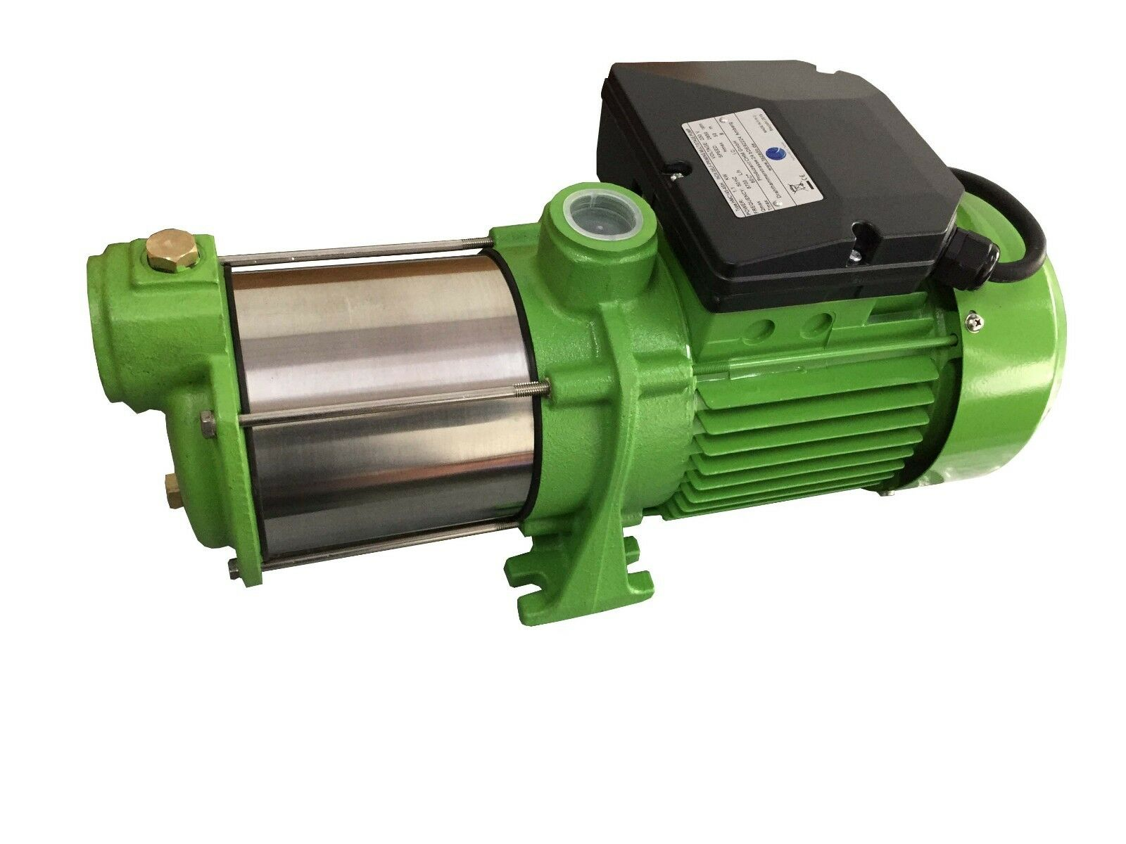 CHM GmbH Kreiselpumpe Edelstahl 1 1 Kw Kw Kw 9000 L h Gartenpumpe Pumpe Hauswasserwerk 342d90