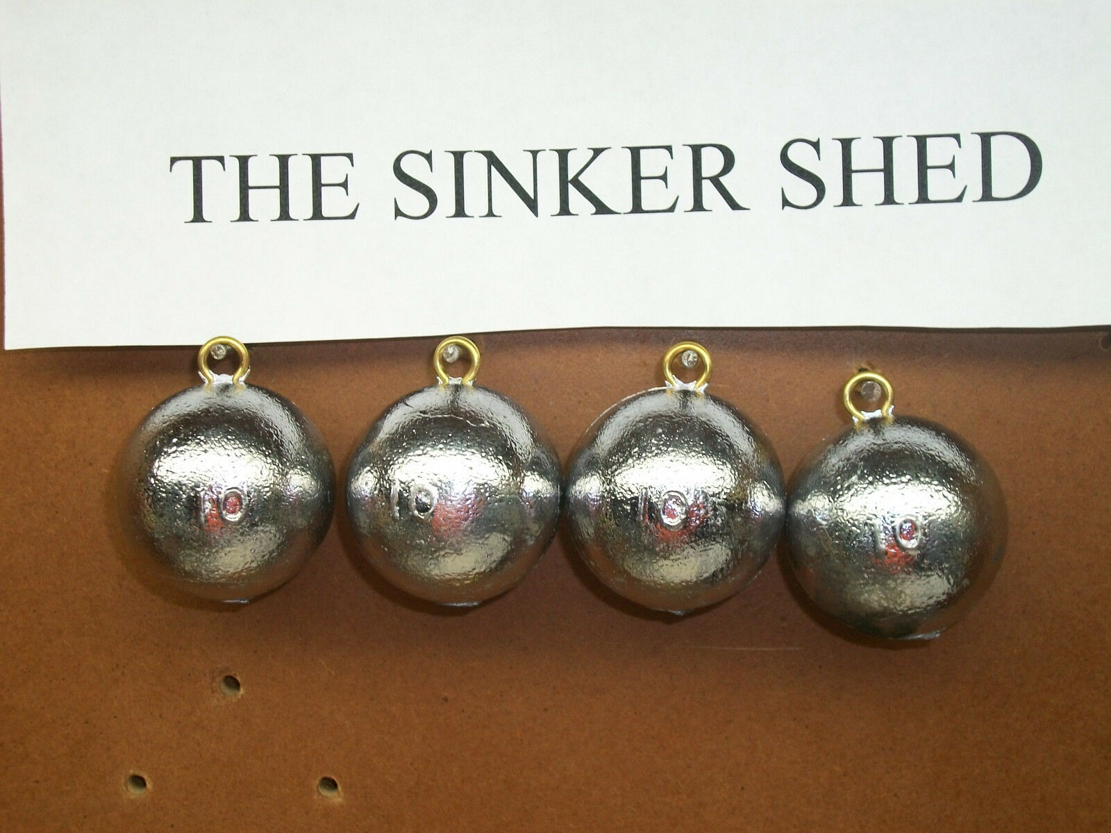 10 oz cannon ball sinkers  - choose quantity 6 12 25 50 100 - FREE SHIPPING  with 60% off discount