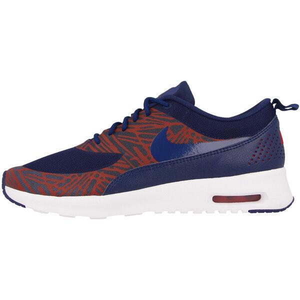 new concept 93120 1dc30 Nike Air Max Thea Stampa Donna Scarpe Sneaker 599408-402 Leali Blue 95 90