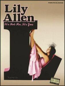 à Condition De Lily Allen, Il N'est Pas Moi, C'est Vous Piano Vocal Guitar Music Book MÊme Jour ExpÉdition-afficher Le Titre D'origine