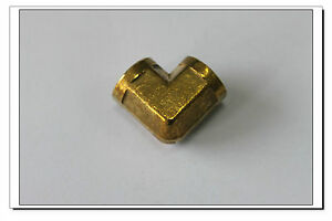 5-x-New-Brass-Pipe-Fitting-Female-90-Deg-1-8-034-NPT-Elbow-Fuel-Air
