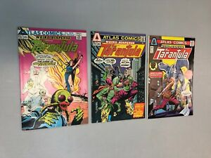 The-Tarantula-Weird-Suspense-1-3-Complete-Set-1-2-3-Atlas-Comics-1975