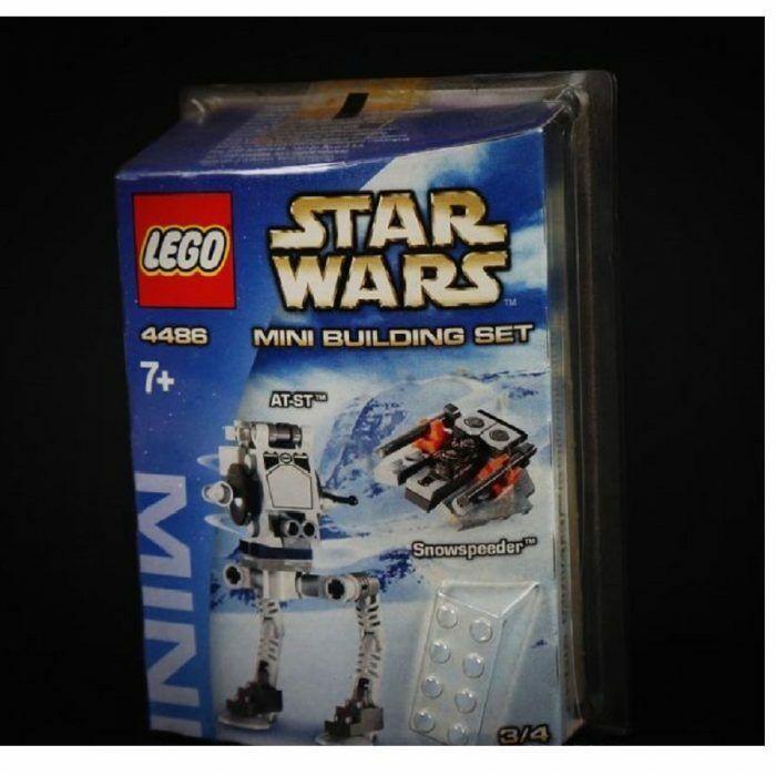 memorizzare LEGO Estrella Guerras 4486 MINI A-St Snowspeeder contiene contiene contiene 76 pezzi rari  grandi risparmi