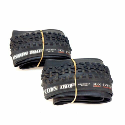 Maxxis Minion DHF Tire 29x2.50 wt Exo Tubeless Ready Mountain Bike Tyre Black TR
