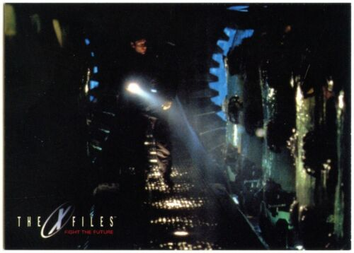 The Cryopods #51 The X-Files Fight The Future 1998 Topps Trade Card C2512