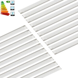 12x-4FT-1200mm-65W-LED-Surface-Mount-Batten-Tube-Light-Daylight-Ceiling-Panel-AU