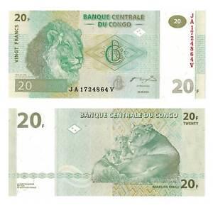 Pick-94A-Congo-Congo-20-Francs-2003-UNC-385067vvv