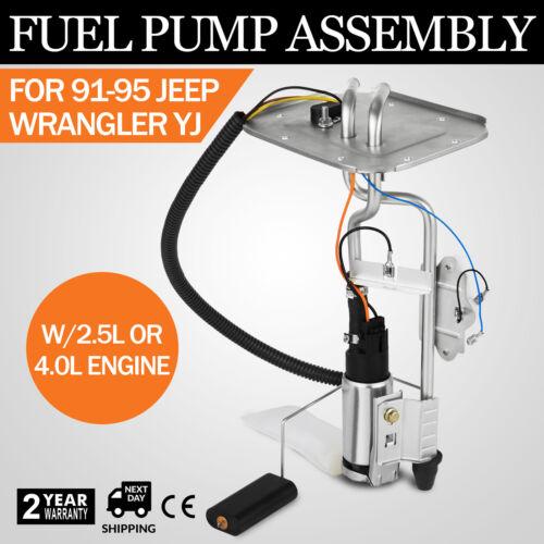 CE Fuel Pump Sending Unit FOR 1991 1992 93 94 1995 Jeep Wrangler 20 gal Car