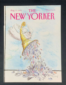 COVER-ONLY-The-New-Yorker-Magazine-August-13-1990-Ronald-Searle
