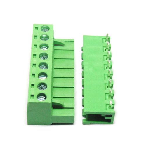 5,08mm Terminal Block Steckverbinder KF2EDGK 2~12P Gerade//90° Grad Winkel Buchse