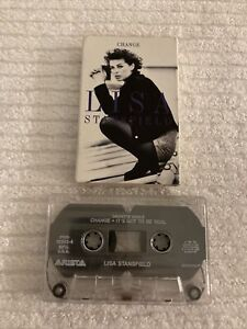 LISA STANSFIELD Change CASSETTE TAPE (TESTED, WORKS AMAZING!) ~ D20