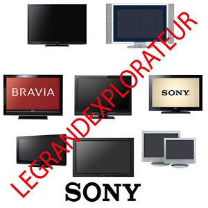 ultimate sony tv lcd plasma led repair service manual 420 pdf rh ebay com sony wega tv repair manual sony bravia tv repair manual