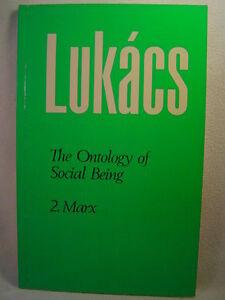 Ontology of Social Being: Marxs Basic Ontological Principles volume 2