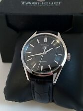 used tag heuer carrera in wristwatches tag heuer carrera calibre 5 mens watch automatic in excellent cond wv211