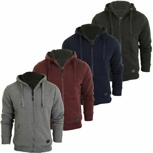 Mens-Dissident-Hoodie-039-Bolo-2-039-Fleece-Lined-Hood-amp-Body