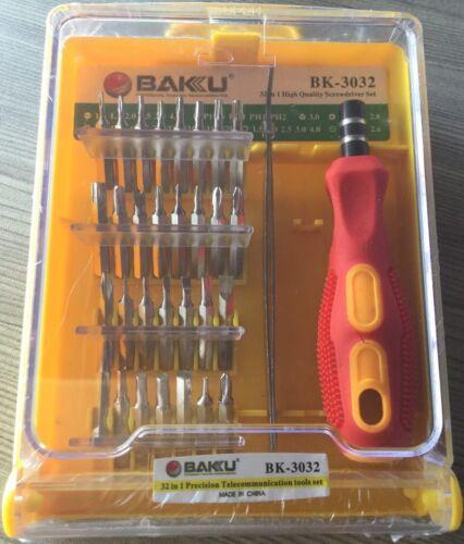 32 en 1 Premium Réparation Téléphone Mobile Torx Tournevis Outil Set Kit pour Philips
