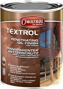 Das Bild Wird Geladen Textrol Hell 5l 17 8 L Owatrol Holzschutz
