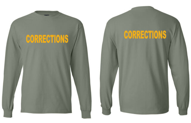 Corrections Unit Officer Department Quality T-shirts S-5XL