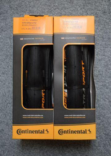 Continental Ultra Sport II 700 x 23 folding tire Pair
