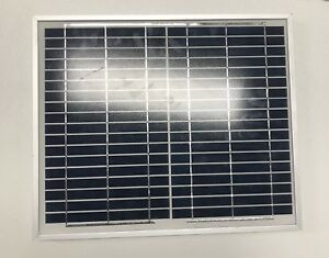 10W-12V-Solar-Panel-Caravan-Camping-Power-Charging-Battery-Charger-No-Cable
