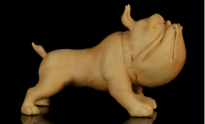 chinese-art-Wood-boxwood-Hand-carving-figure-bulldog-Statue-Sculpture