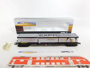 CI826-0-5-Roco-H0-DC-9121845-Gueterwagen-Opel-Millennium-Express-DB-NEM-NEUW-OVP