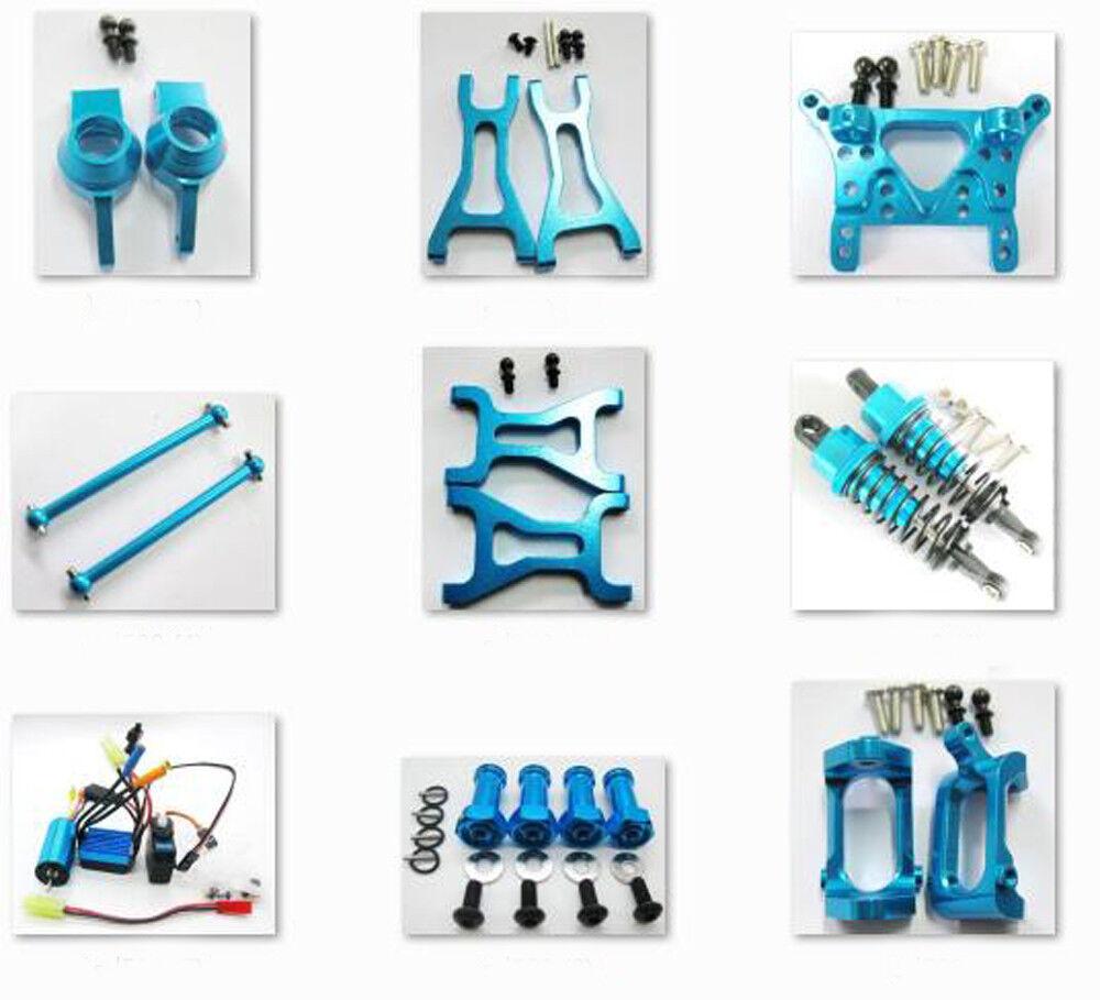 Aluminum Parts DIY For RC 1/18 WLtoys A959 A969 A979 K929 Off-road Rc Car blu