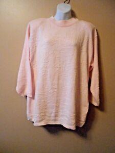 Vintage Colter Bay International S Women's Sweater Pink Cotton USA ...