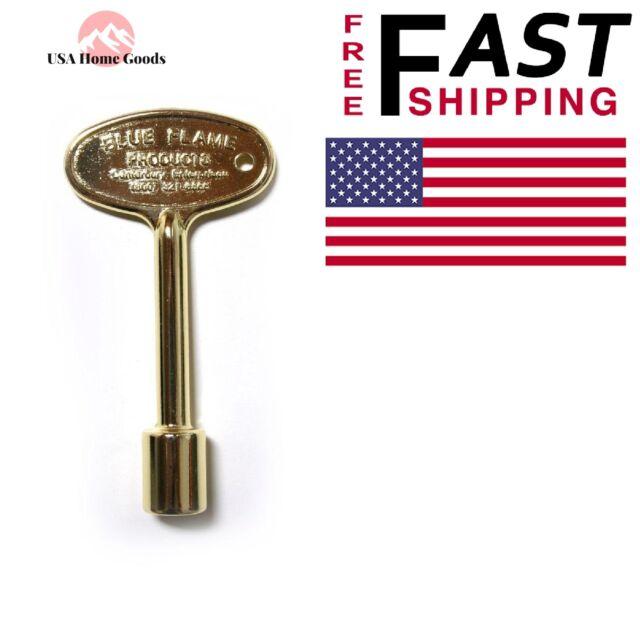 Polished Brass Universal Fireplace Key Log 3 Quot Lighter 1 4
