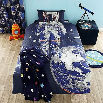 Catherine Lansfield Astronaut Spaceman Space Boys Bedding & Matching Accessories