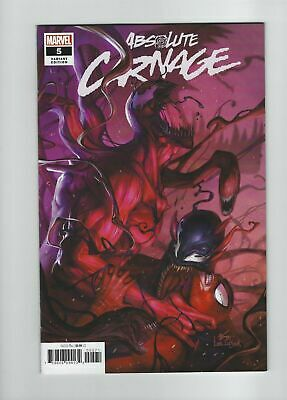 Marvel Absolute Carnage # 5 In Hyuk Lee 1:50 Variant Cover NM