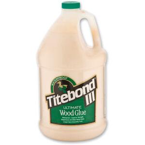 Titebond III Ultimate Wood Glue 1 US Gallon