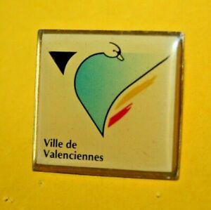 pin-039-s-lapel-pin-pins-TOURISME-Ville-de-VALENCIENNES-Embleme-Cygne