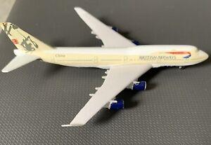 British Airways / Boeing 747-400 / Schabak 1:600 Scale / BA's China Livery