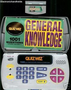 Details about TIGER QUIZ WIZ ELECTRONIC QUESTIONS TRIVIA HAND HELD S