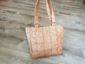 purse handmade cowhide Distressed Camel Leather Tote bag