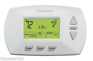 honeywell rth6350d white 5 2 day easy to use. Black Bedroom Furniture Sets. Home Design Ideas
