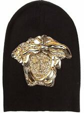 Versace Medusa Hat Beanie S Made in Italy BNWT RRP490GBP UNISEX