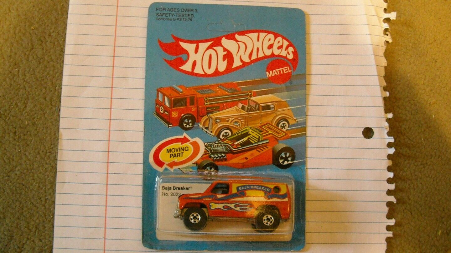 VINTAGE HOT WHEELS BAJA BREAKER non perforé.