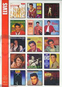 Elvis-PRESLEY-LP-Album-15-Magnete-Neu-OVP