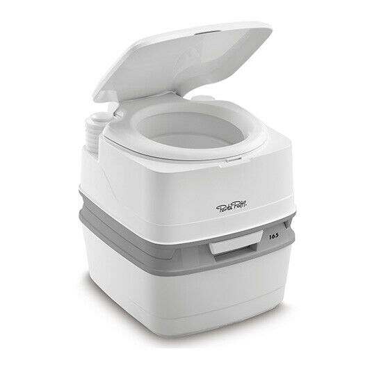 THETFORD PORTA POTTI 165 COMPACT TOILET FOR CAMPERVANS, MOTORHOMES, CAMPING