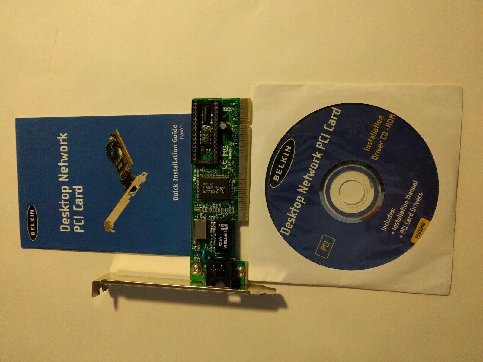 Desktop Network PCI Card. BELKIN.