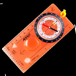 AOFAR Orienteering Map Compass AF-5C Hiking Survival Lightweight Kids Navigation
