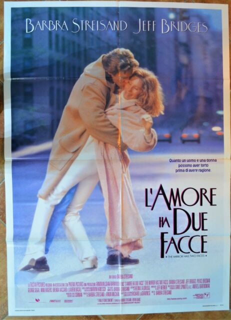 MANIFESTO ORIG. L'AMORE HA DUE FACCE 96 The Mirror has two Faces B. STREISAND