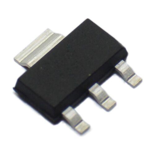 3x BSP125H6327XTSA1 Transistor N-MOSFET unipolar 600V 0,12A 1,8W SOT223